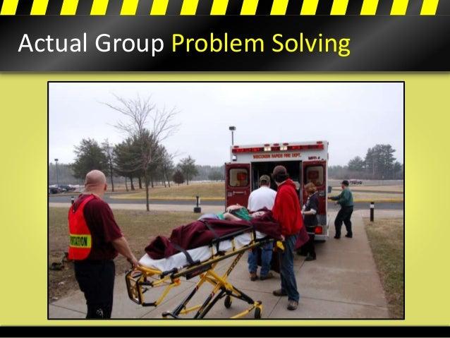 Actual Group Problem Solving
