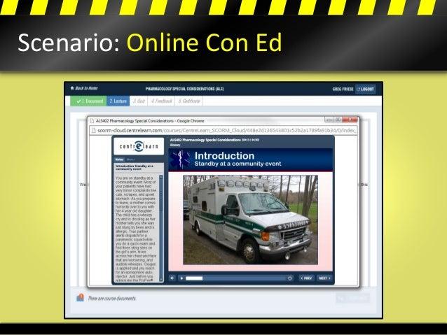Scenario: Online Con Ed