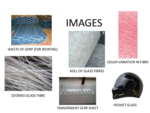 Glass Fibre Reinforced Plastic Gfrp