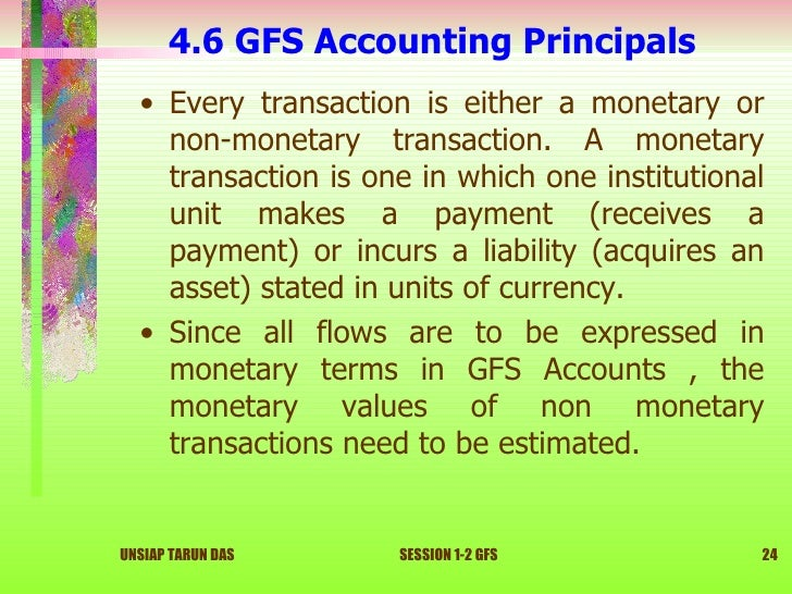 Accounting For Non Monetary Transactions