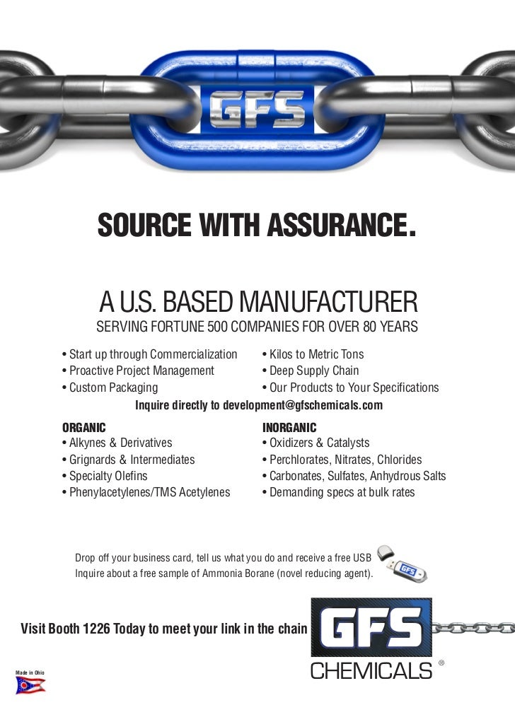 SOURCE WITH ASSURANCE.                      A U.S. BASed mAnUfActUrer                      Serving fOrtUne 500 cOmpAnieS f...