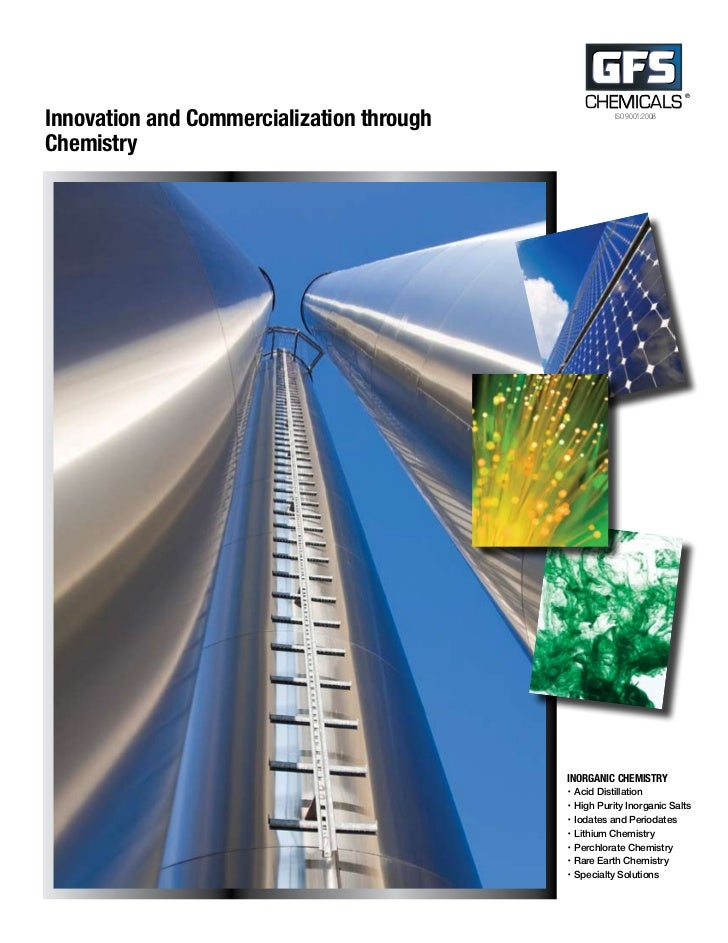 CHEMICALS                                                                      ®Innovation and Commercialization through  ...