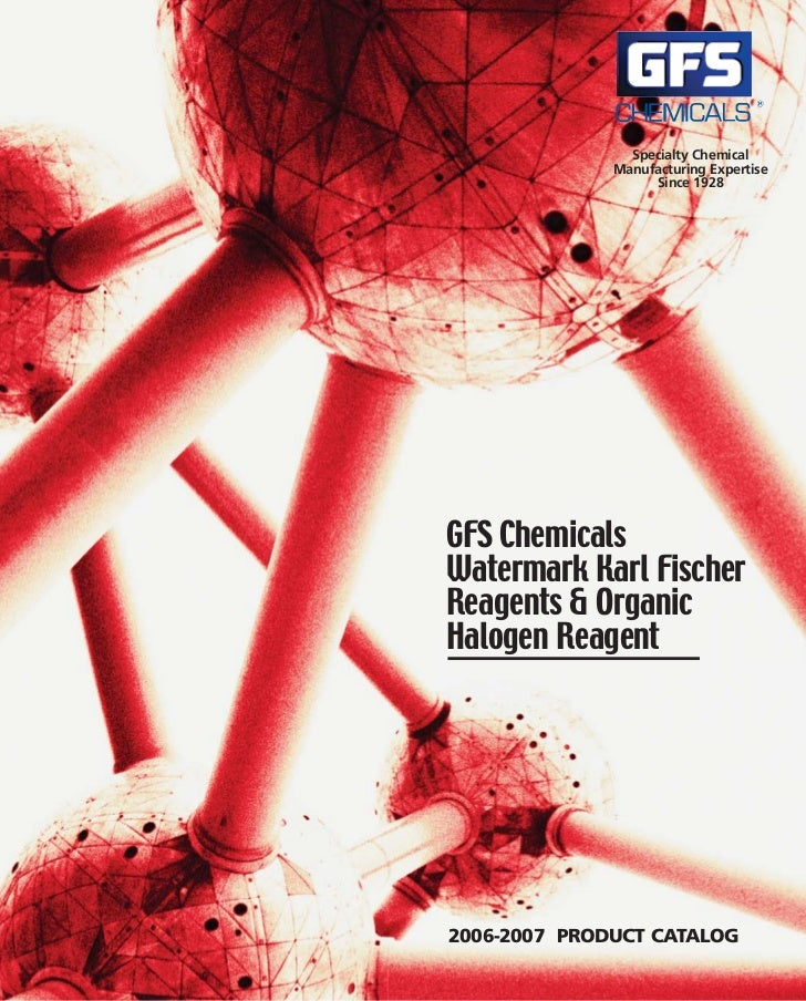 Specialty Chemical              Manufacturing Expertise                   Since 1928GFS ChemicalsWatermark Karl FischerRea...