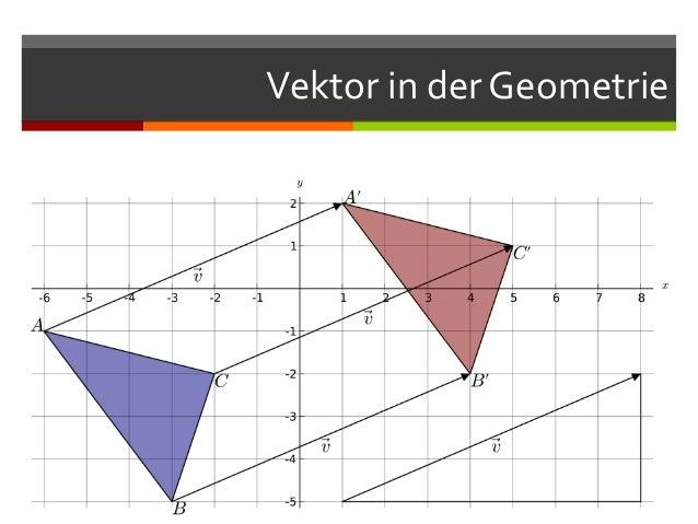 Vektor in der Geometrie