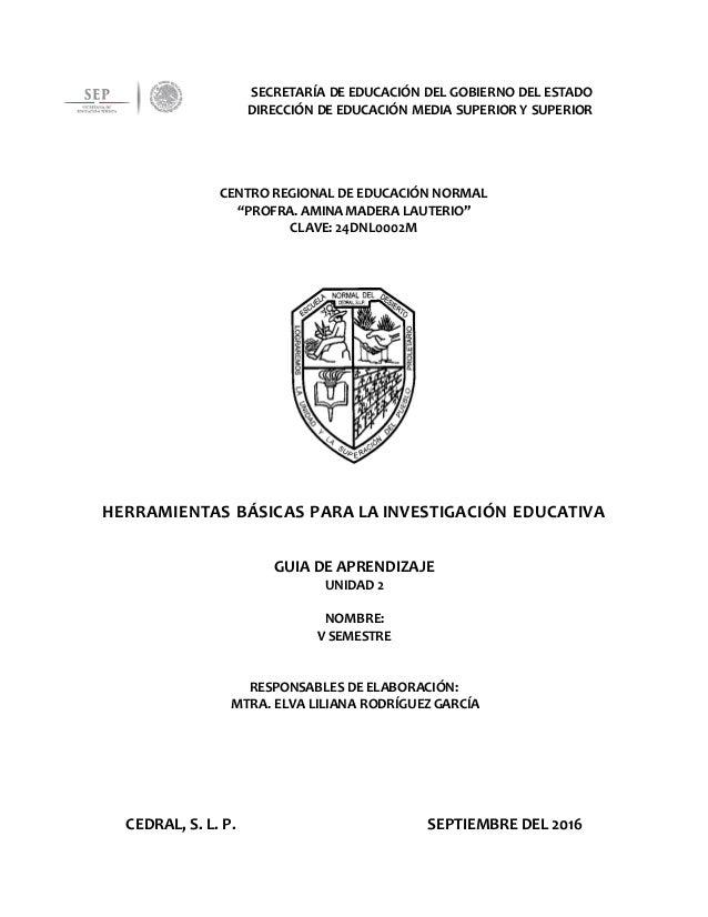 SECRETARÍA DE EDUCACIÓN DEL GOBIERNO DEL ESTADO DIRECCIÓN DE EDUCACIÓN MEDIA SUPERIOR Y SUPERIOR CENTRO REGIONAL DE EDUCAC...