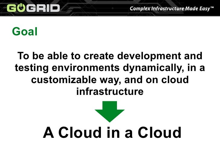 Agile Development at GoGrid with Pallet and JClouds