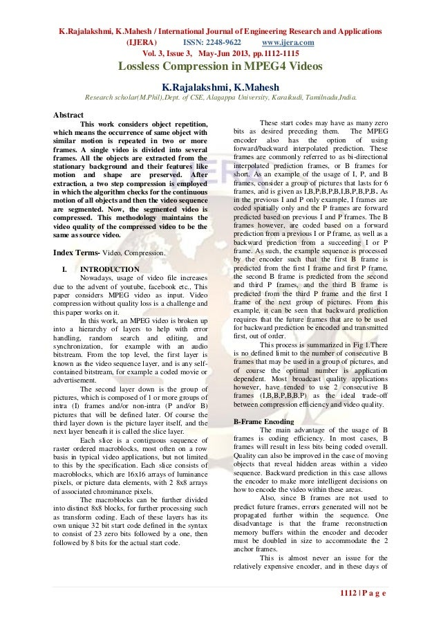 K.Rajalakshmi, K.Mahesh / International Journal of Engineering Research and Applications(IJERA) ISSN: 2248-9622 www.ijera....