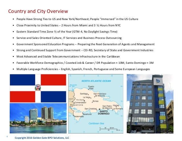 Golden Gate Bpo Santo Domingo Dominican Republic Overview