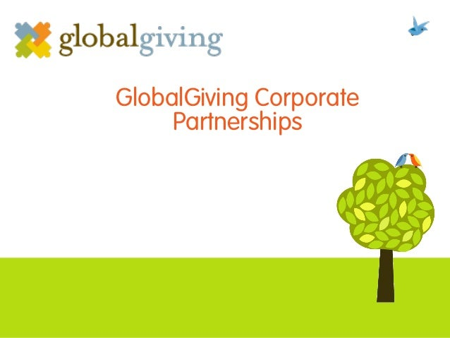 GlobalGiving Corporate Partnerships