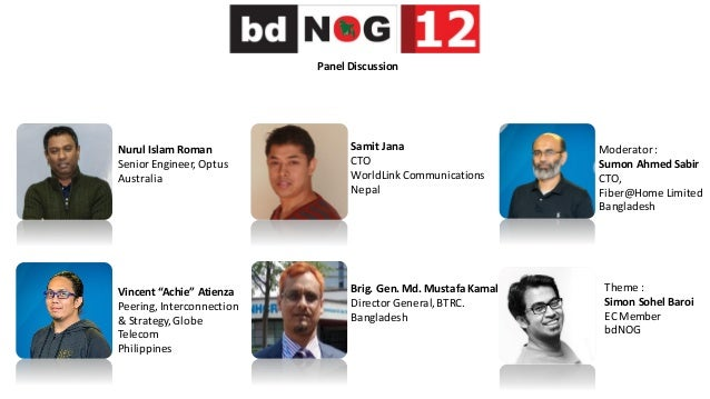 Social CDN Business : Paid or Free - bdNOG12 Panel Discussion