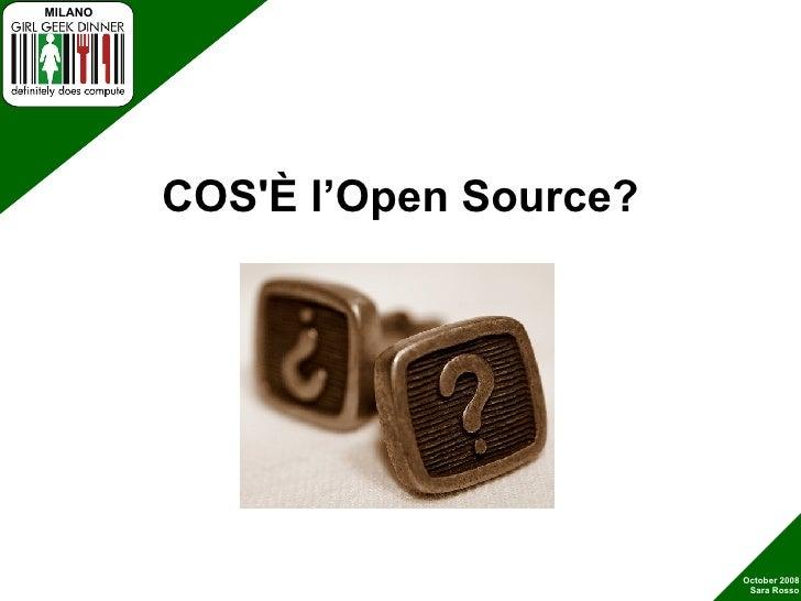 Open Source e le Girl Geek Slide 3
