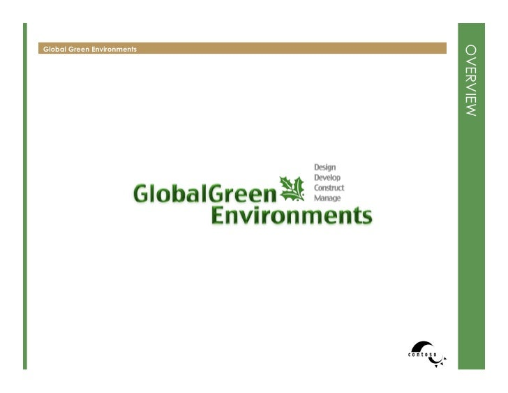 Global Green Environments Book Overview