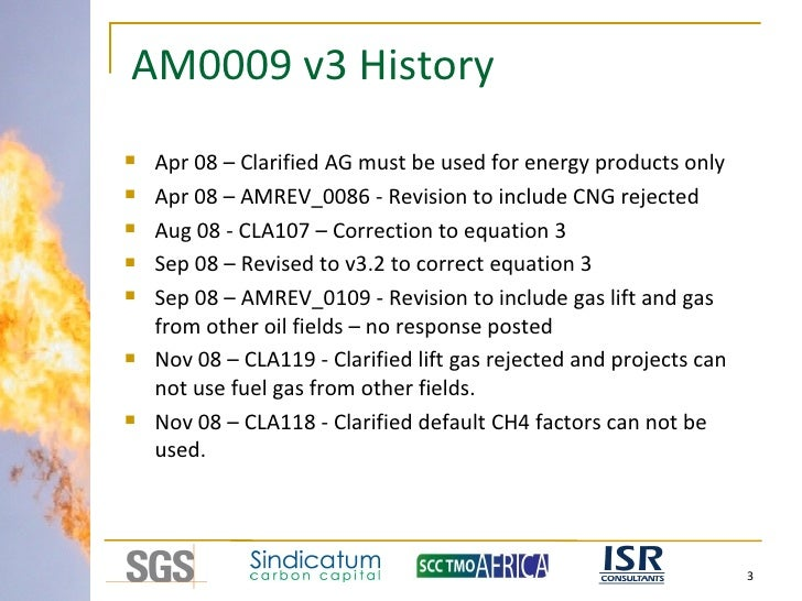Flare reduction projects - issues underlying limited uptake - Steve Ross (SGS) Slide 3