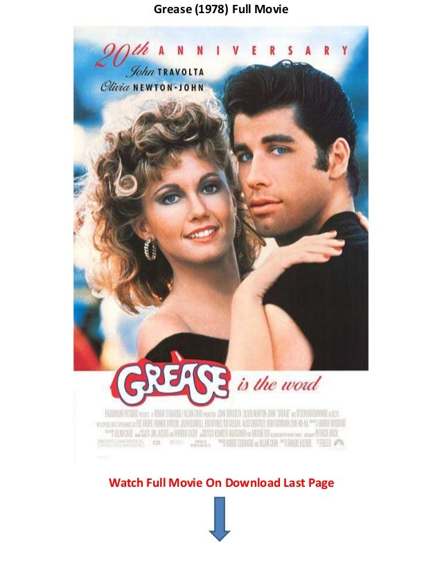 grease 1978 watch free movies trailers online no