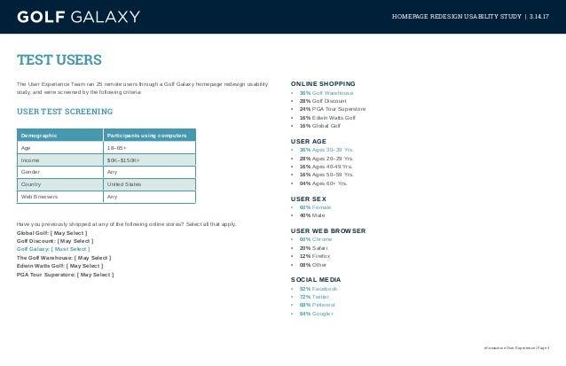 Homepage Redesign Study Slide 3