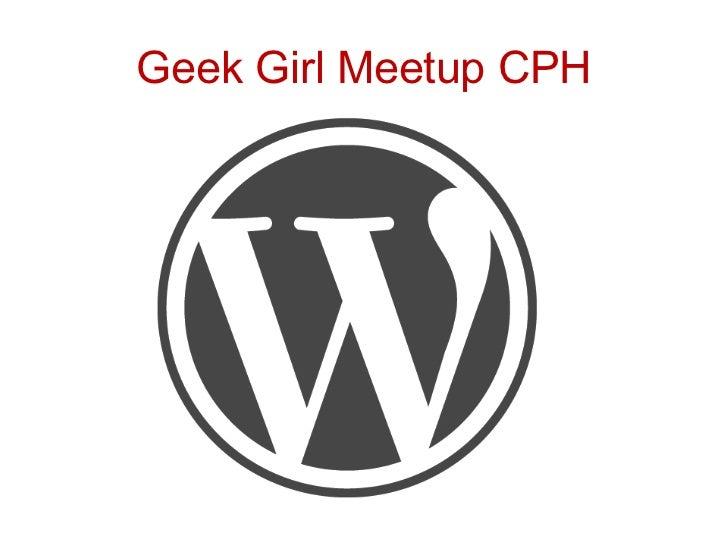 GeekGirlMeetup CPH<br />