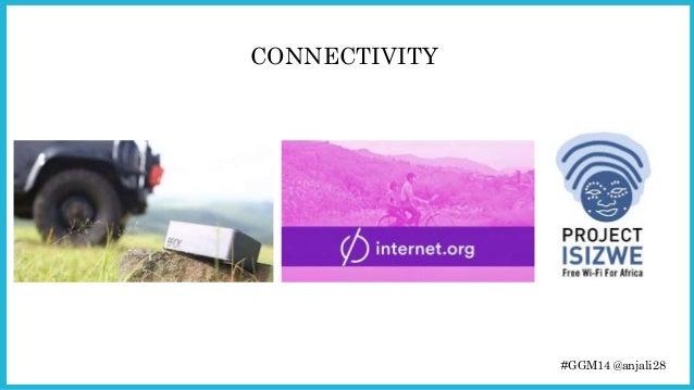 #GGM14 @anjali28  CONNECTIVITY