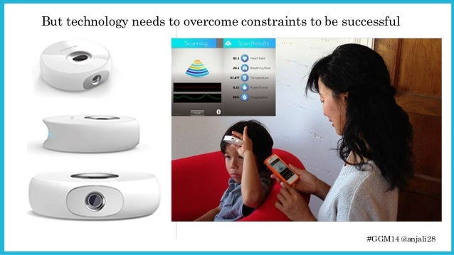 But technology needs to overcome constraints to be successful  #GGM14 @anjali28