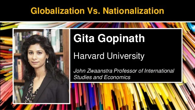 Keynote Address - Globalization Versus Nationalization: The Future of Trade.