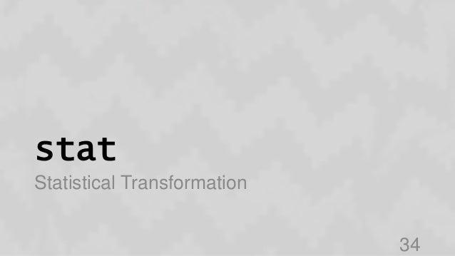 stat Statistical Transformation 34