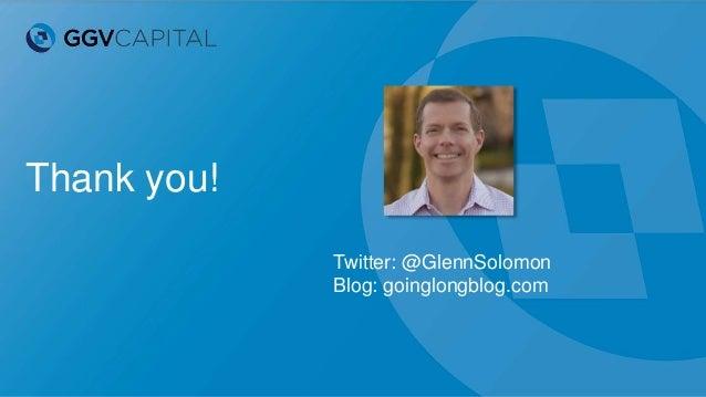 Thank you! Twitter: @GlennSolomon Blog: goinglongblog.com