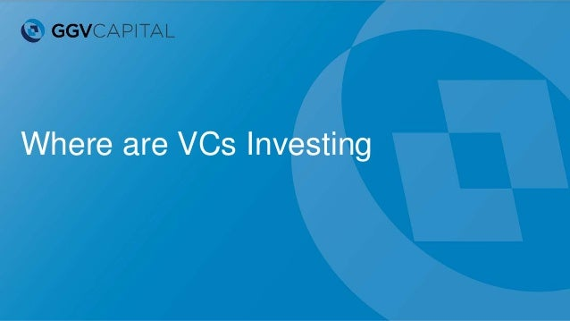 Where are VCs Investing
