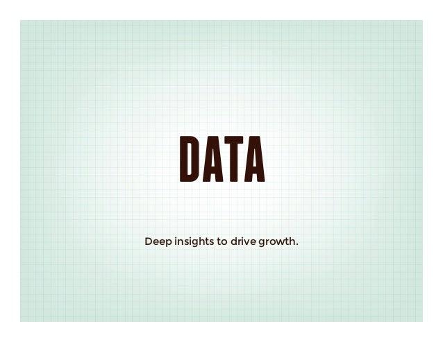 DATADeep insights to drive growth.