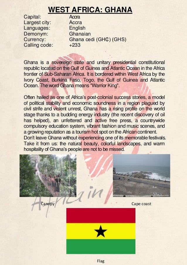 Country Description - Ghana