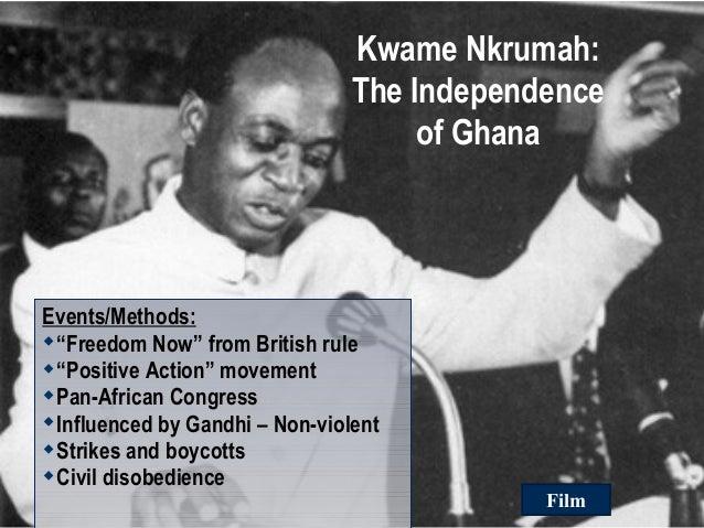 Independence of Ghana and Kenya