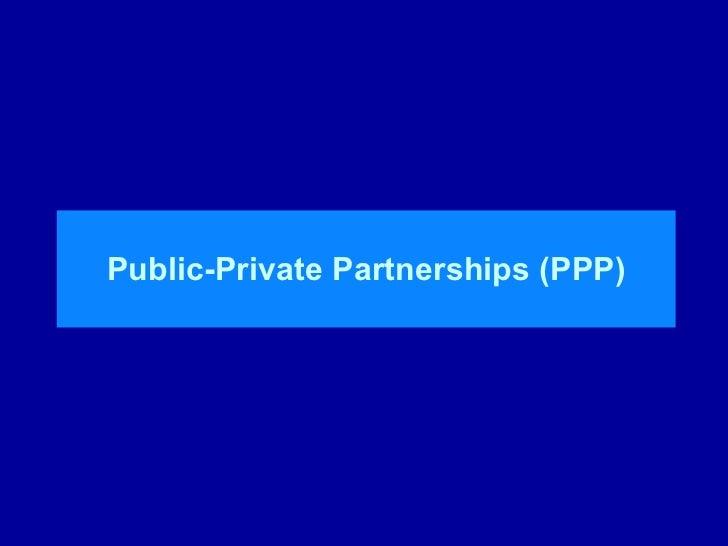Private finance initiative
