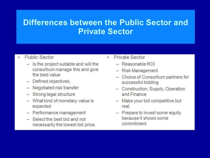 the differences in public and private budget preparation Formulation of performance based budgets • oracle public sector planning and budgeting the budget development process done in public sector budgeting and.