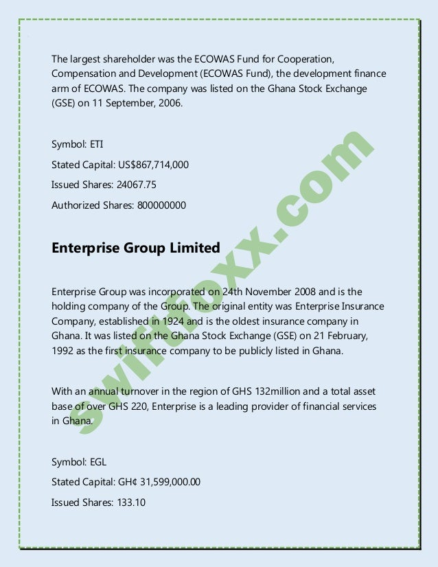The Complete List of Listed Companies in Nigeria ...
