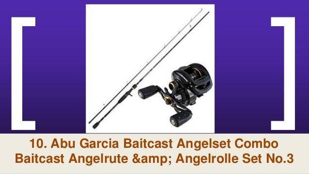 ABU GARCIA Baitcast Angelset Combo Baitcast Angelrute /& Angelrolle Set NO.2