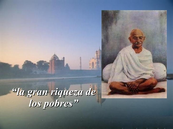 Oracion de Mahatma Ghandi  Slide 2