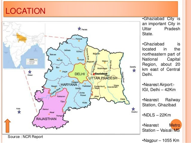 Ghaziabad Development - A case study related to ward and landuse map