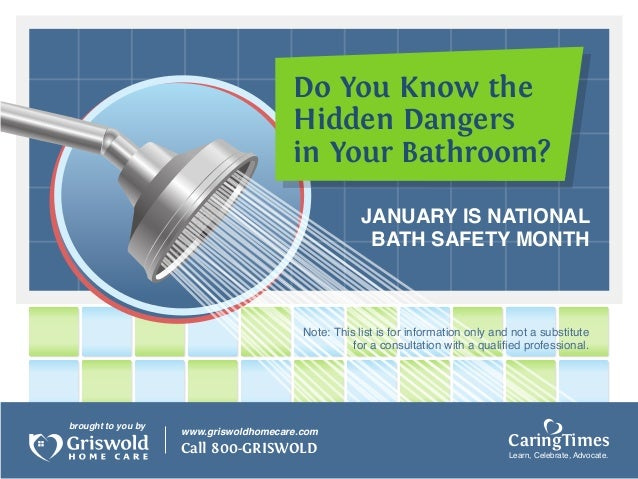 Do You Know the                                       Hidden Dangers                                       in Your Bathroo...