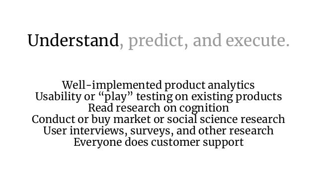 Data + Taste = Product Intuition