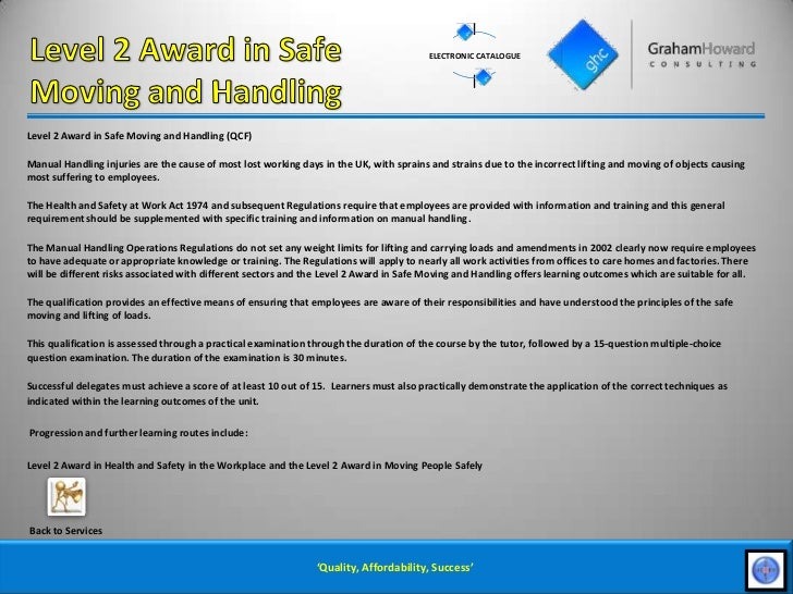 health and safety manual handling weight limits