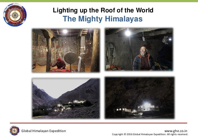 Global Himalayan Expedition www.ghe.co.in Copyright © 2016 Global Himalayan Expedition. All rights reserved. Global Himala...