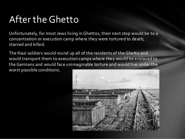 Holocaust Ghettos Pictures