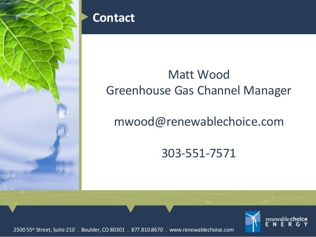 Introduction To Greenhouse Gas Inventories By Renewable