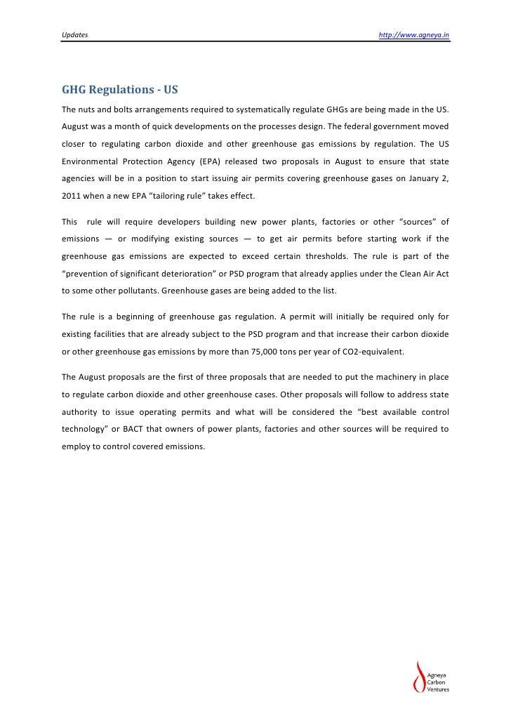 Updates                                                                            http://www.agneya.inGHG Regulations - U...