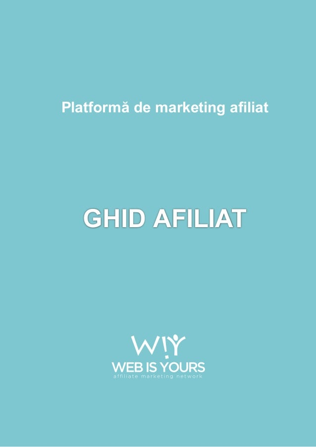 GHID AFILIATPlatformă de marketing afiliat