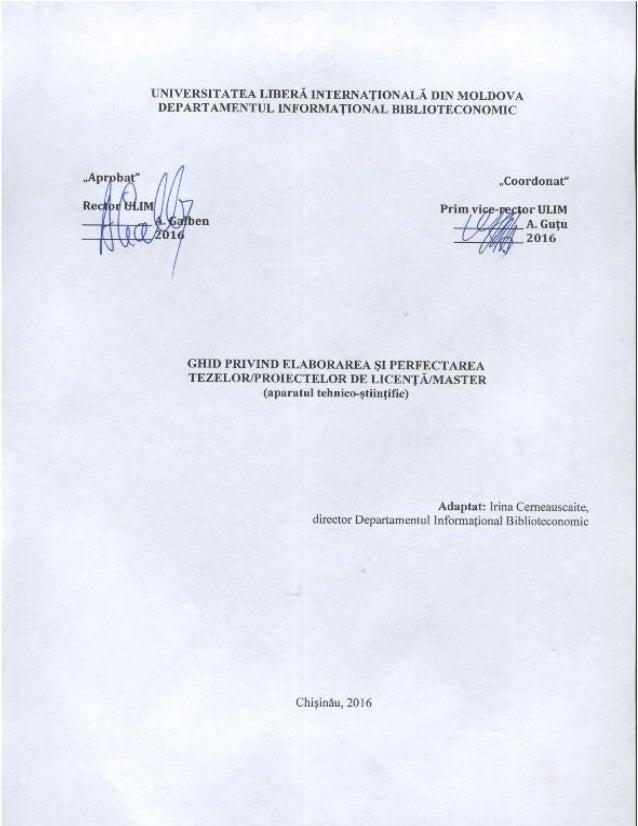 UNIVERSITATEA LIBERĂ INTERNAŢIONALĂ DIN MOLDOVA