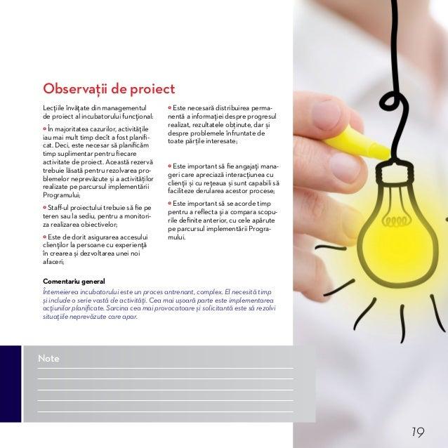 Procesul de incubare. Concepte Programele de incubare a afacerilor sunt proiectate pentru a accelera dezvoltarea de succes...