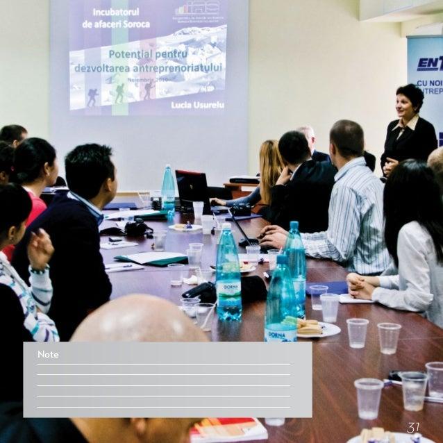 8 paşi esenţiali în crearea şi dezvoltarea unui incubator de afaceri 1. Analiza pieţei antreprenoriale – factor decisiv în...