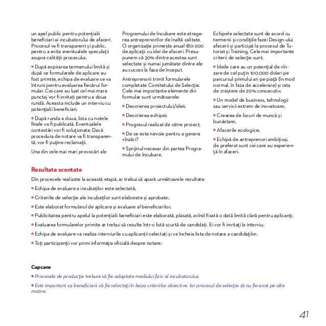 Studiu de caz 7. Cum au fost selectaţi rezidenţii IAS Chiar de la începutul colaborării cu Soroca, în raion au fost organi...