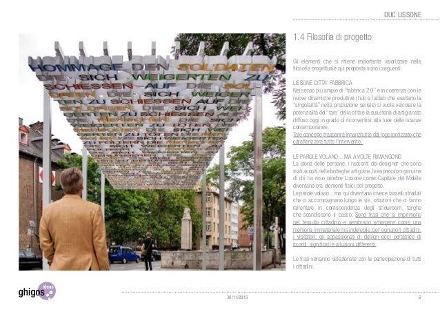 3.3 Area 2 - Via Carducci In via Carducci l'Intervento, caratterizzato dallo stesso colore presente in tutta la città, div...