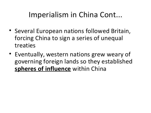 effects of imperialism