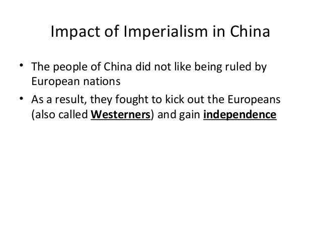 how western imperialism affect china and japan China and japan's battle for influence in southeast asia  which it leads, have  long been investing in the east-west economic corridor, linking.